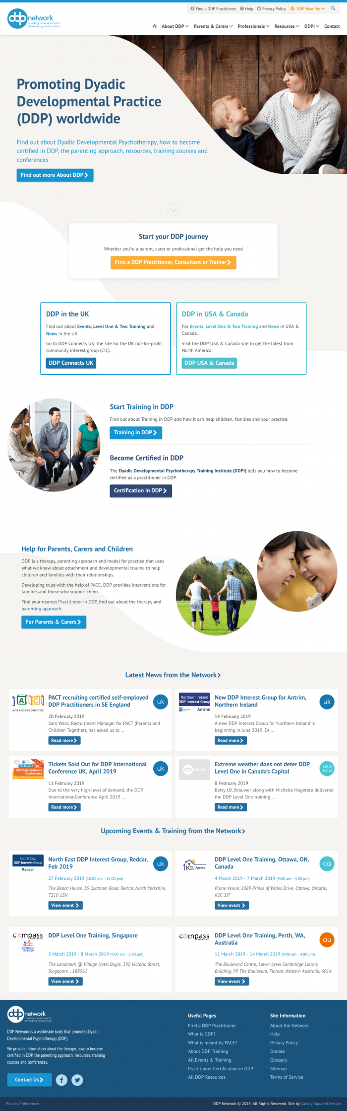 DDP Network - The home of Dyadic Developmental Psychotherapy