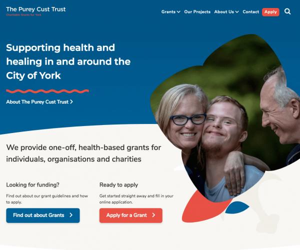 The Purey-Cust Trust- Charitable Grants for York screenshot